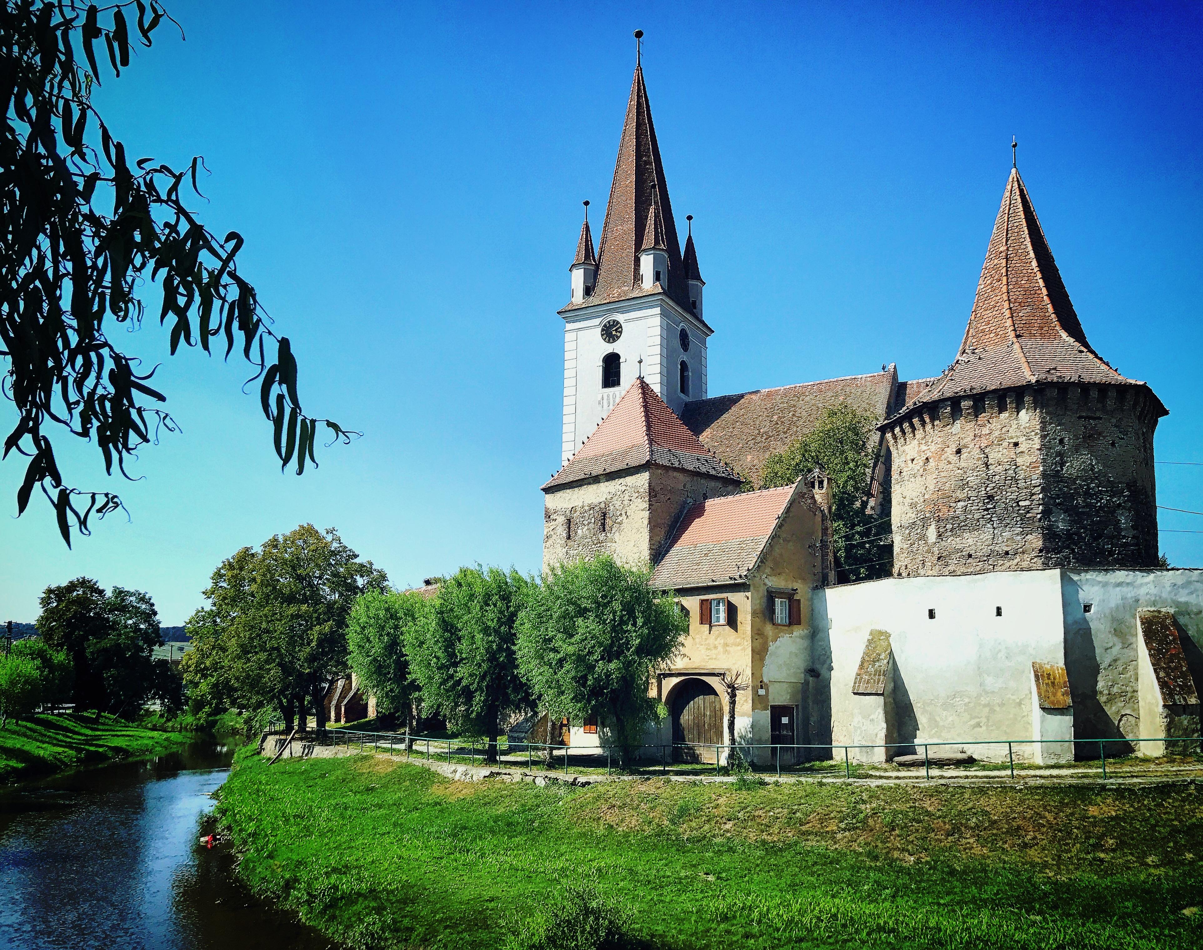 Kirchenburg Cristian
