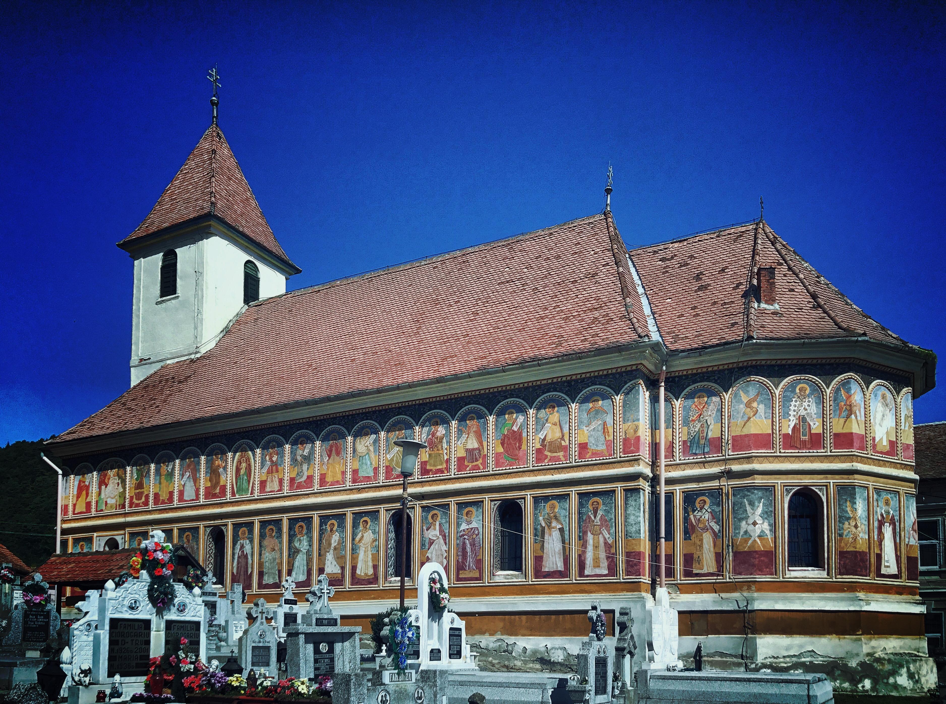 Orthodoxe Kirche von Klein-Talmesch (Tălmacel)