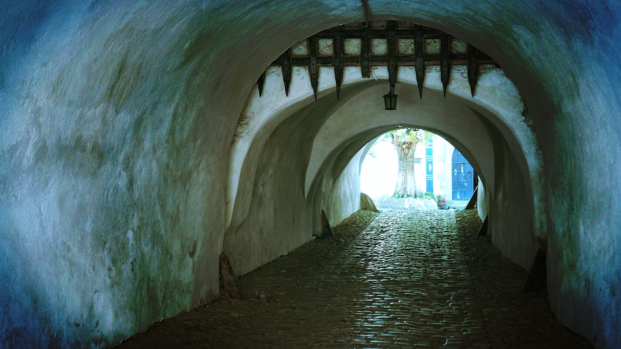 Eingang zur Kirchenburg Prejmer (Tartlau)