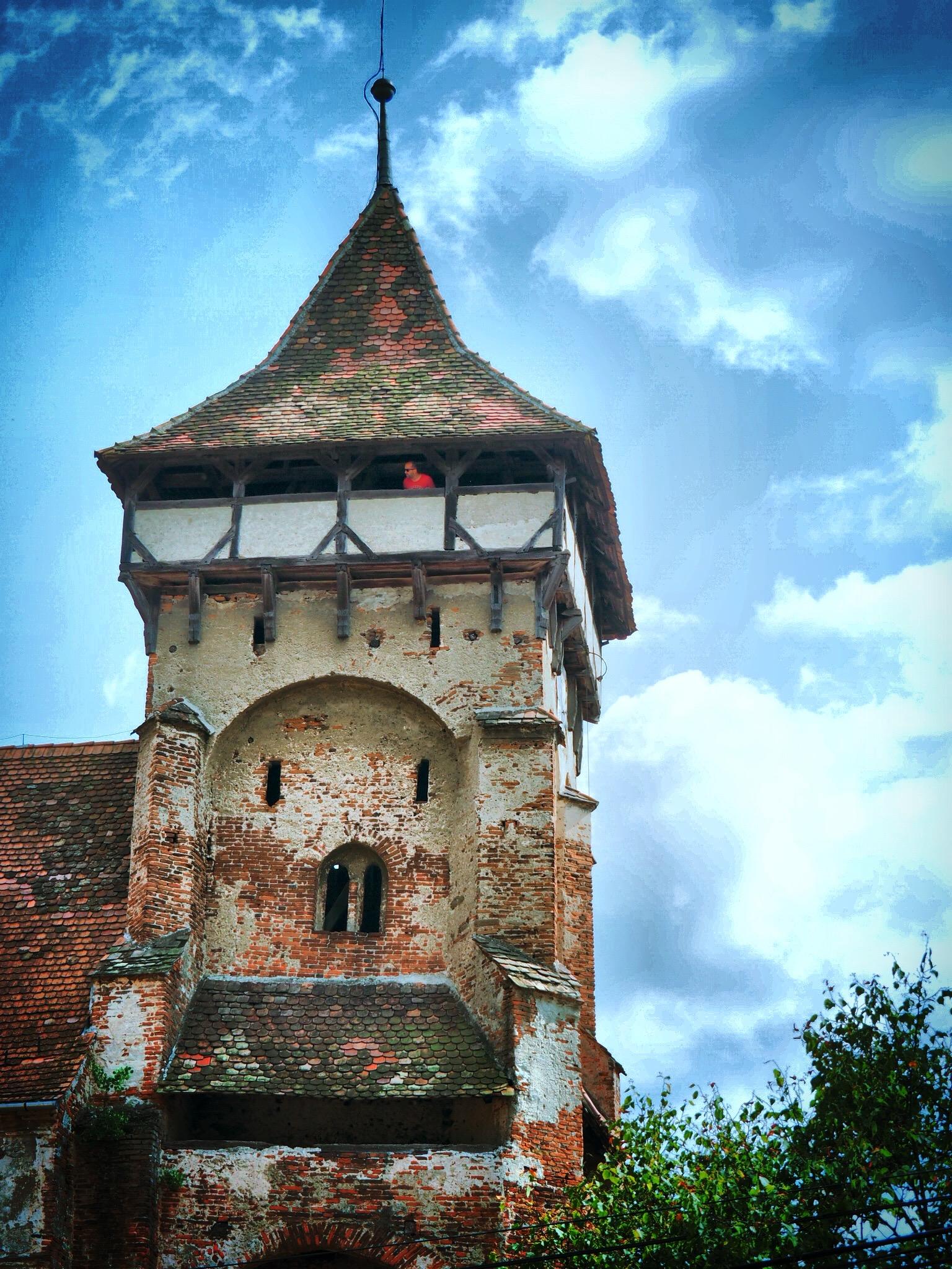 Wehrkirchturm Şeica Mică