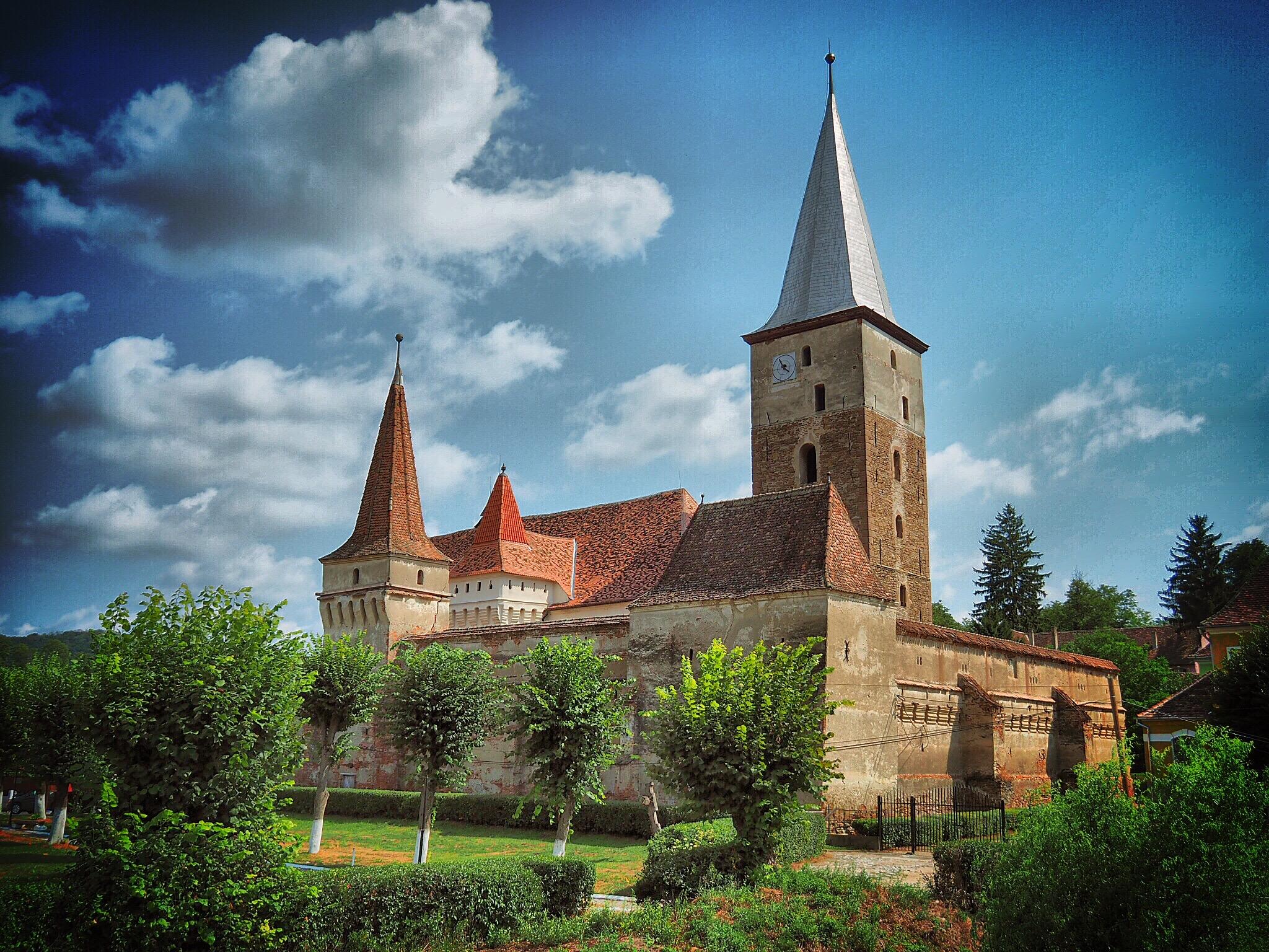 Kirchenburg Moşna (Meschen )