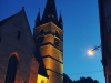 Sibiu bei Nacht