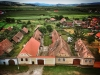 Blick von der Kirche auf Valea Viilor