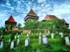 Der alte deutsche Friedhof in Viscri