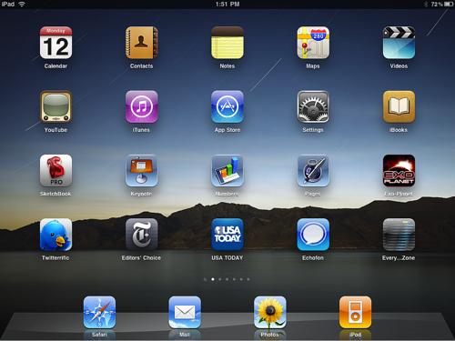 """Zauberer Simon Pierro zeigt ein """"magisches"""" iPad"""