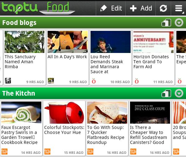 Meine Lieblings-App unter Android: Taptu