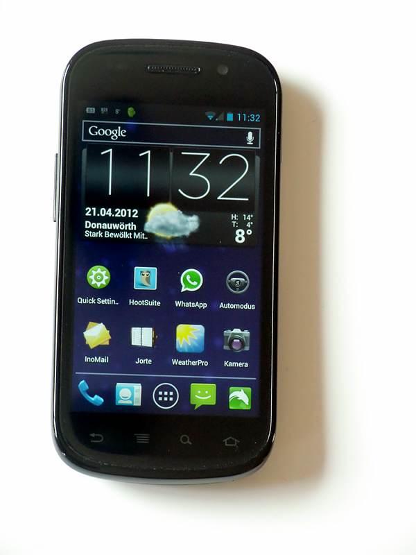 Am Ende doch: mein Nexus S jetzt mit Android 4.04