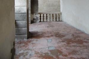 Veranda des Fürstenpalastes