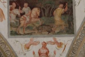 Fresken im Fürstenpalast