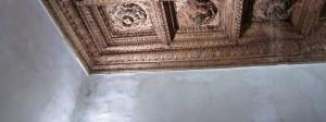 Holzdecke im Fürstenpalast