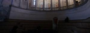 Säulen mit griechischen Göttern im Teatro Olimpico
