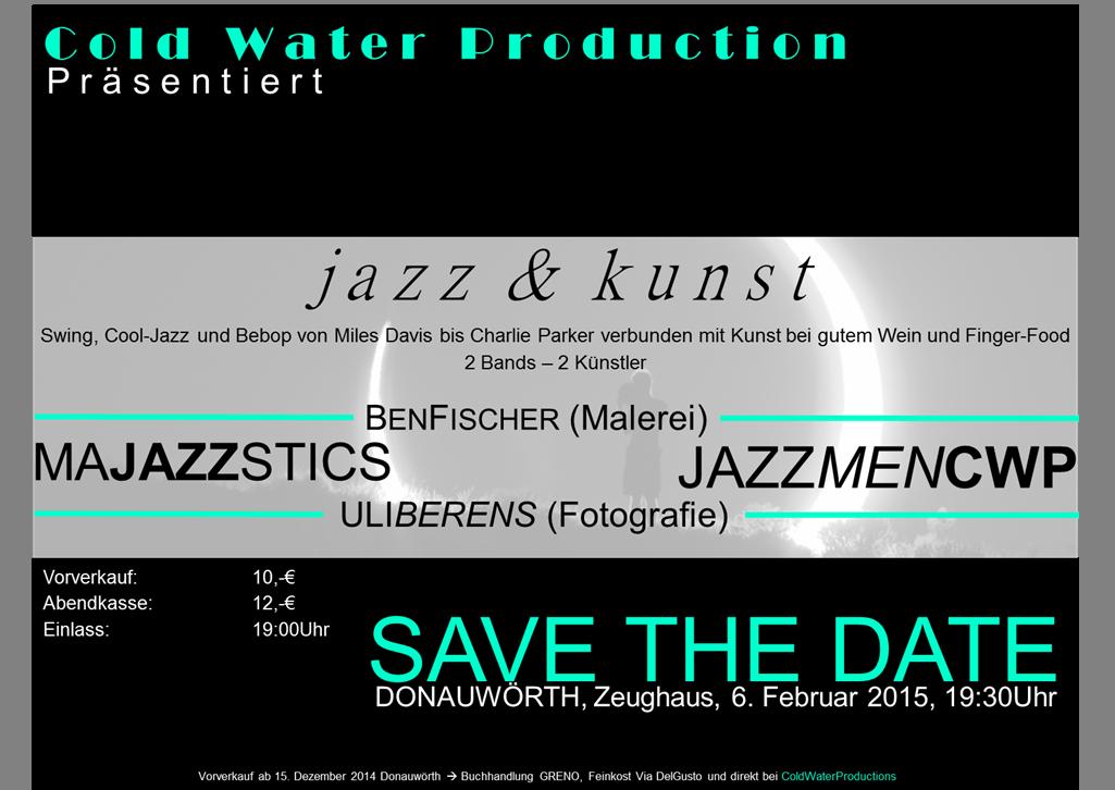 Vorankündigung: jazz&kunst am 6.2.2015